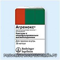 Агренокс: інструкція із застосування, склад, показання, протипоказання до застосування, побічні ефекти, аналоги