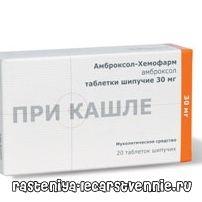 Амброксол хемофарм - інструкція із застосування (ліки для розрідження мокроти)