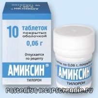 Аміксин - інструкція, застосування, аналоги, показання, склад, дія