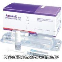 Авонекс: інструкція із застосування, синоніми. Препарати для лікування розсіяного склерозу