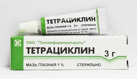 Чим допоможе очна тетрациклінова мазь: вивчаємо властивості