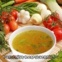 Дієта - овочевий суп для схуднення