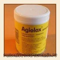 Хороший проносний засіб агиолакс, інструкція із застосування