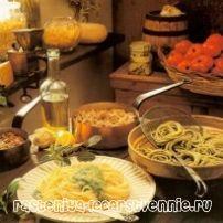 Італійська кухня: рецепти - паста і лазіння