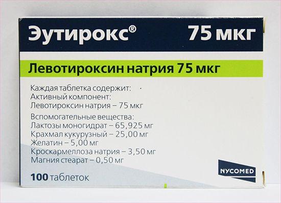 Еутірокс для схуднення: особливості прийому, дозування, відгуки