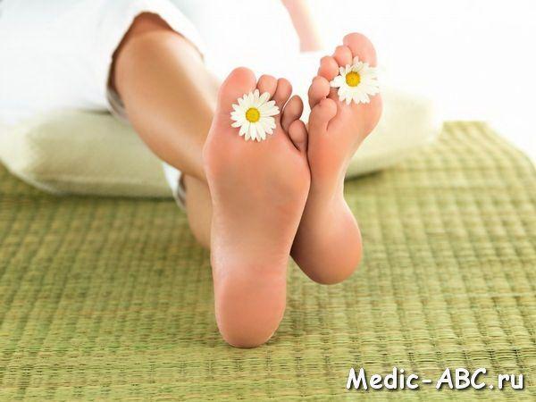 Як позбутися від натоптишів на ступнях