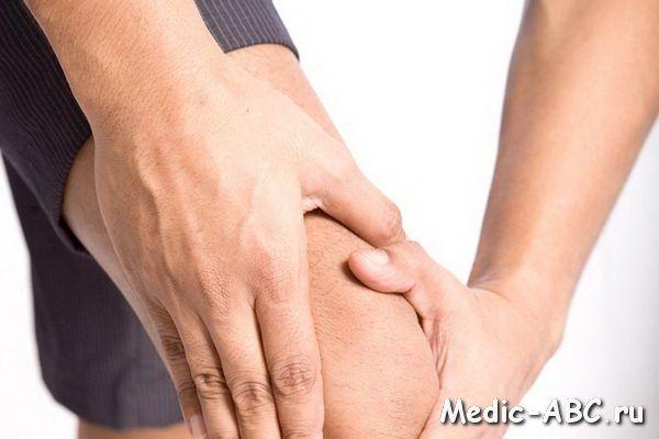 Як позбутися від рідини в коліні