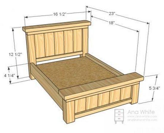 Как сделать кровать для кукол своими руками?