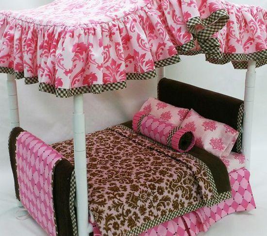 Кровать для кукол двухярусная