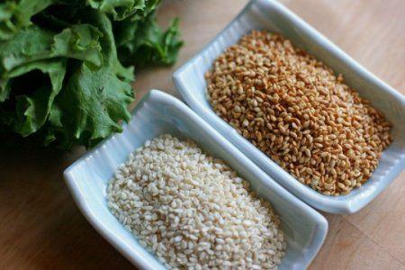 Кунжутне насіння. Корисні властивості і протипоказання