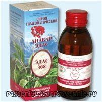 Лікування бронхіту гомеопатією (анабар едас-308)