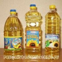 Олія соняшникова - калорійність, користь і шкода, склад, лікування