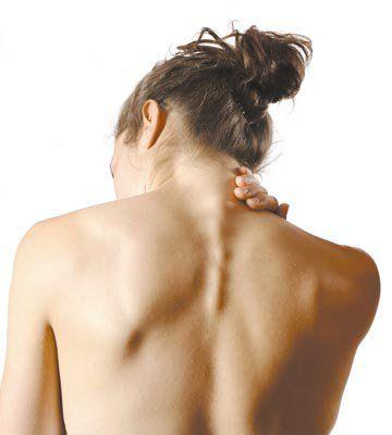 Масаж шиї при остеохондрозі