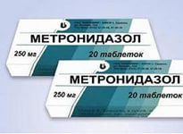 Метронідазол-таблетки - інструкція із застосування