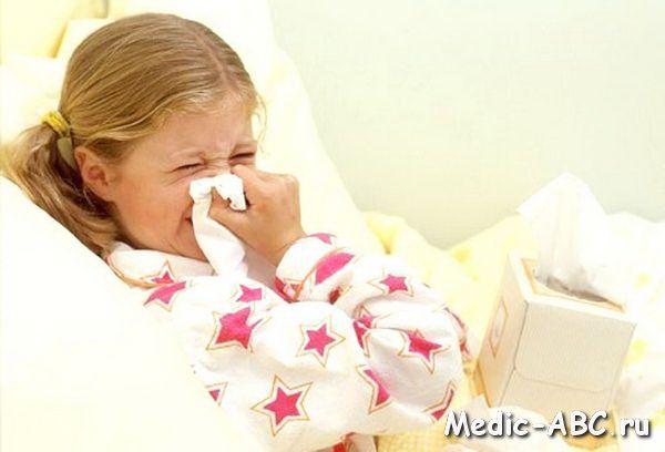 Грві у дітей в сезон епідемії