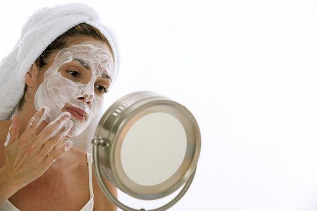 Сирна маска з персиковим маслом