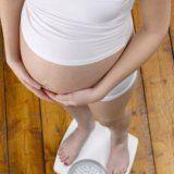 Збільшення ваги при вагітності жінки