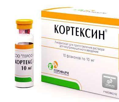 Застосування уколів кортексин