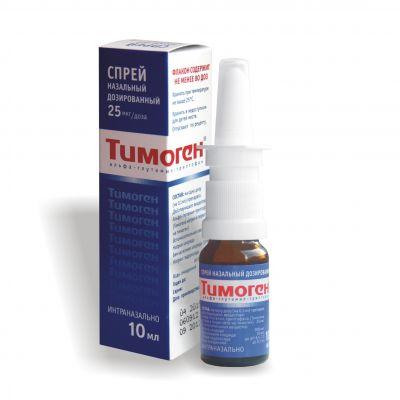 Тимоген спрей інструкція із застосування