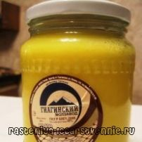 Топлене масло - користь і шкода, рецепт приготування
