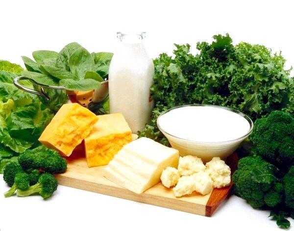 У яких продуктах міститься кальцій