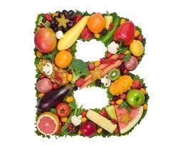 Вітамін B в продуктах: зелені овочі, м`ясо, яйця, сир, молоко, риба і морепродукти