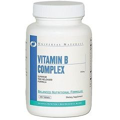 Комплекс вітамінів групи B в таблетках