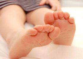Пухирі на ногах