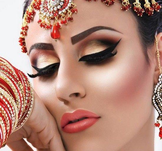 Східний макіяж: японський, індійський, арабська - секрети перетворення в спокусливу красуню сходу