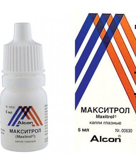 Все про очні краплі макситрол: інструкція із застосування