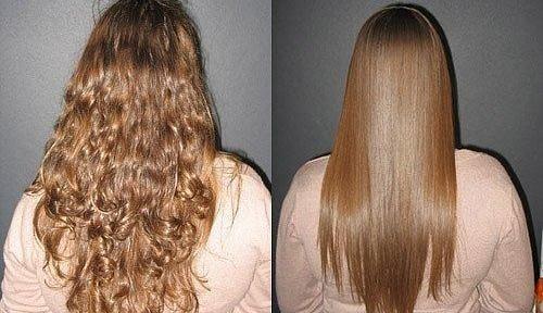 Випрямлення волосся кератином: відгуки