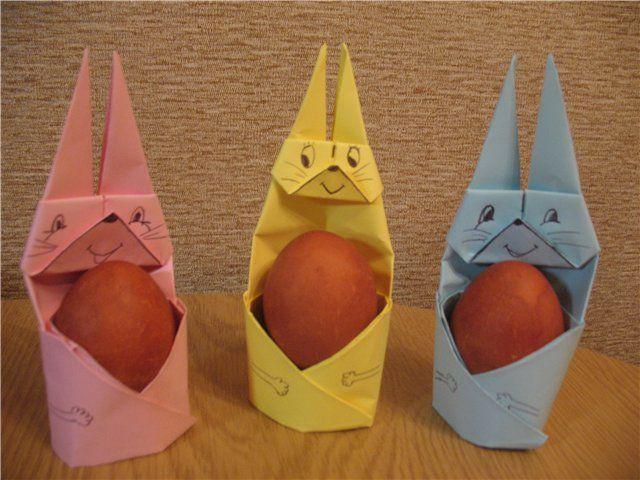 Заяц оригами: способ изготовления