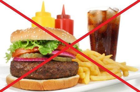 Здорове харчування для схуднення виключає
