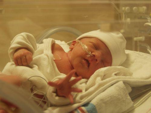 Зір у новонароджених дітей